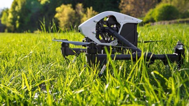 Drones en el campo