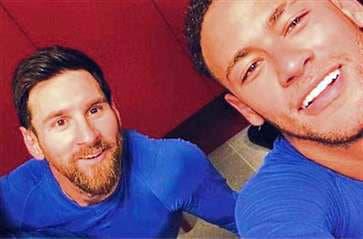 Lionel Messi - Neymar Jr
