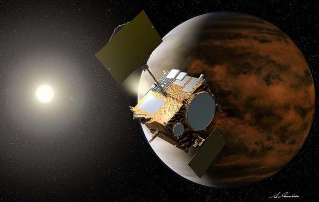 Akatsuki fue lanzada en mayor de 2010 y llegó a la órbita de Venus en diciembre de 2015