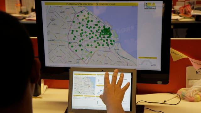 Los datos de los sensores se podrán ver en tiempo real