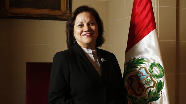 La directora de la oficina comercial del Perú, Silvia Seperack