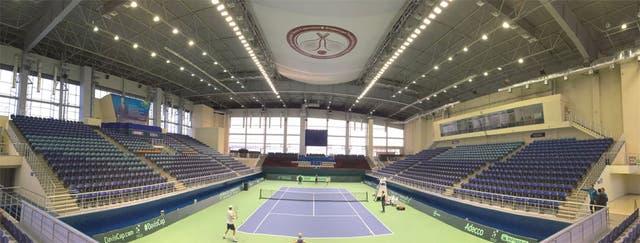 El estadio en el que se jugará el repechaje de la Copa Davis