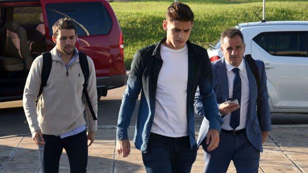 Semanas atrás, Mayada y Martínez Quarta participaron del descargo en la sede de Conmebol
