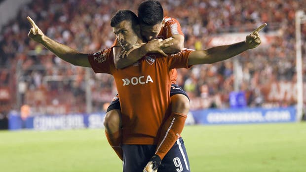 Independiente logró un triunfo clave ante Flamengo en la ida de la final de la Copa Sudamericana