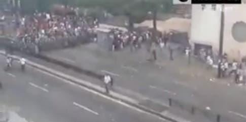 Al menos un muerto tras incidentes en Caracas