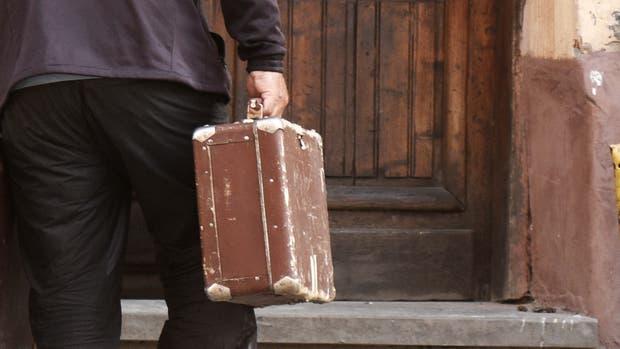 El Griego trasladó los restos de su cu?ado en una valija