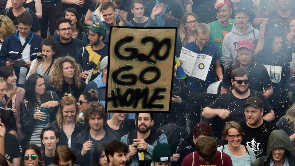 Hamburgo es la sede de la Cumbre del G-20 de este año porque Alemania detenta la presidencia pro-tempore del grupo; esperan unas 100.000 personas en las protestas que tendrán lugar entre hoy y el sábado