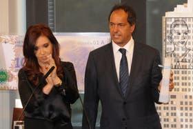 Scioli y una complicada relación política e institucional con el gobierno de Cristina.