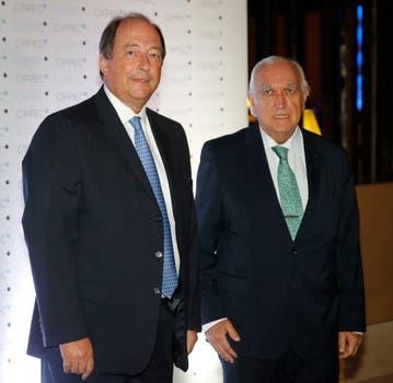Ernesto Sanz junto a Ricardo Gil Lavedra. Foto: LA NACION / Fabián Marelli