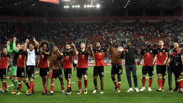 Bélgica sacó pasaje para el Mundial de Rusia