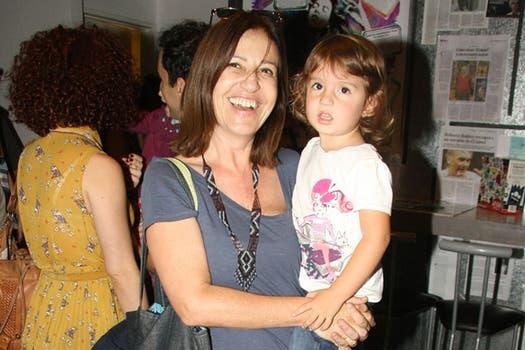 También estuvo ahí Mercedes Morán con su nieta, Emma; fueron a ver Opereta Prima. Foto: Gentileza Débora Latcher comunicaciones