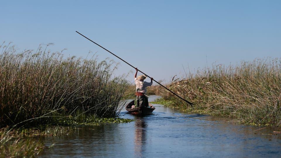 La reserva del Iberá tiene 1,3 millones de hectáreas. Foto: LA NACION / Diego Lima / Enviado especial