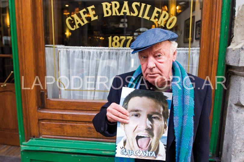 Galeano, un fan más de Messi