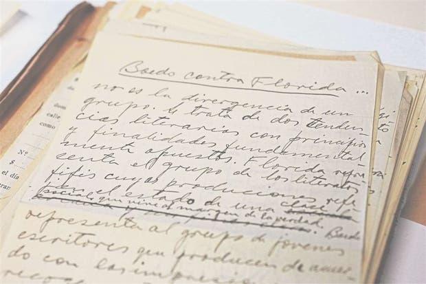 """""""Boedo contra Florida"""": un manuscrito del archivo de Claridad"""
