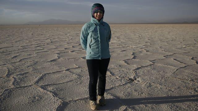 Victoria Flexer busca desarrollar tecnología para el uso del litio