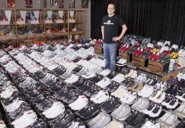 Los 2000 pares de Nike de Jordan Geller