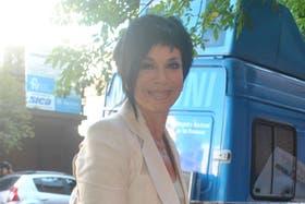Mónica Gutiérrez defendió la profesión periodística