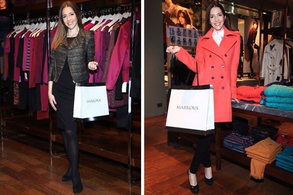 Cristina Pérez estuvo en Markova y renovó todo su guardarropas. ¿Cuál de estos dos looks te gusta más?. Foto: Públicas PR