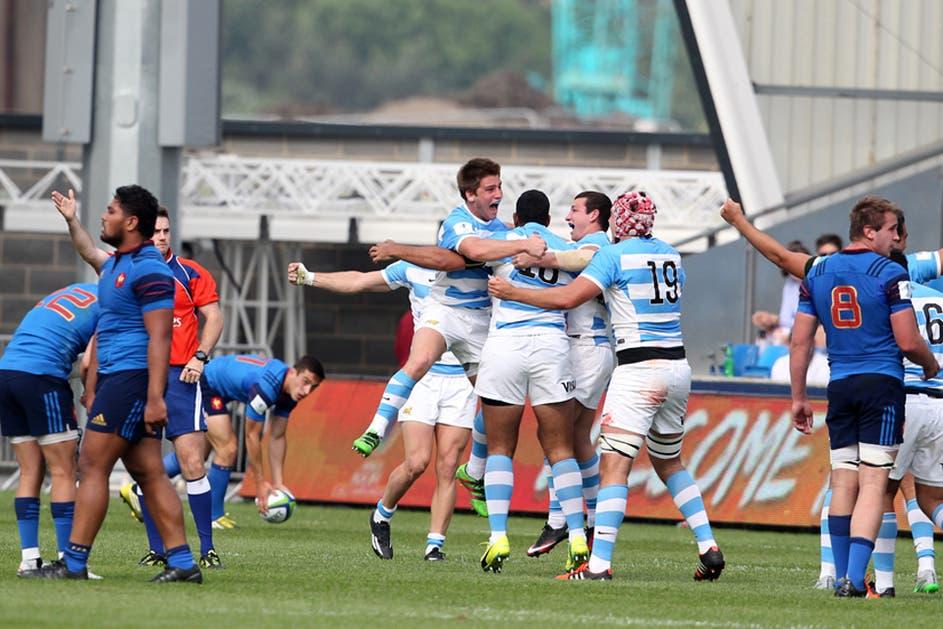 U20 Championships: gran triunfo de Los Pumitas ante Francia en el mundial