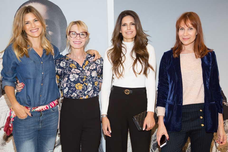 Cumbre de reinas: Pia Slapka, Gloria Carra, Isabel Macedo y Matilda Blanco pasaron a conocer la nueva colección de Portsaid .