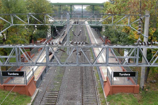 Los trenes tampoco anduvieron. Foto: DyN