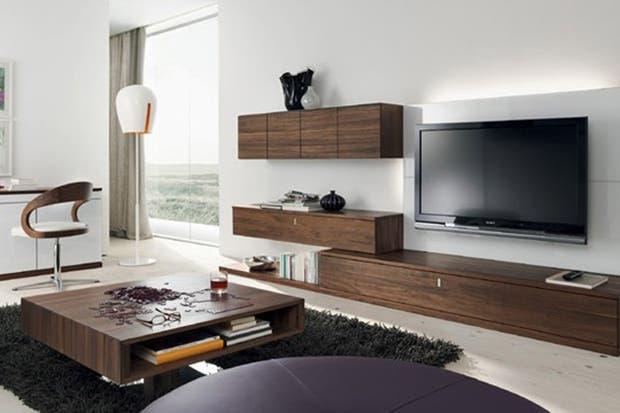 Consejos a la hora de armar un rincón para mirar tv   living ...