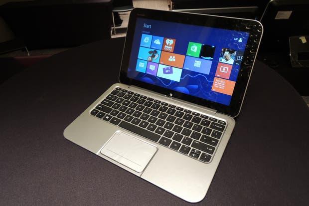 Una vista de la Envy x2 de HP como computadora portátil
