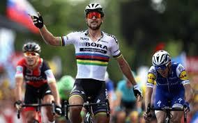 Peter Sagan se impuso en la tercera etapa