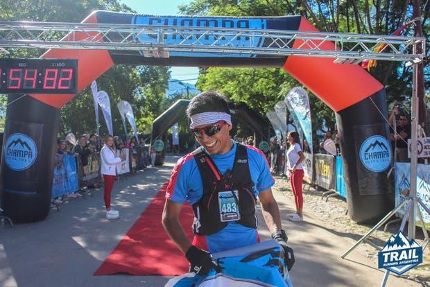 Sergio Pereyra, Campeón Nacional de UltraTrail
