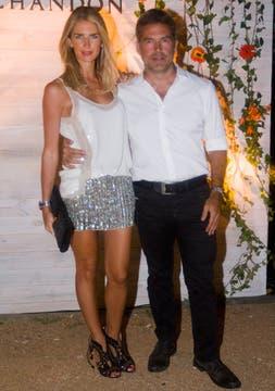 Julieta Spina y Augusto Rodríguez Larreta. Foto: Alejandro Di Ciocchis
