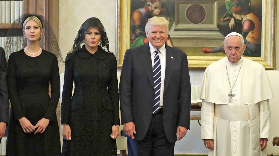 Resultado de imagen para donald trump papa