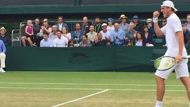 Gustavo Fernández estrenó el número 1 con una victoria — Wimbledon