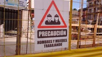 Igualdad: las obras de la Ciudad ahora tienen carteles de