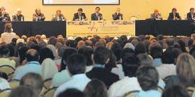 El reclamo de la Iglesia se hizo escuchar en el encuentro, ante ministros y docentes