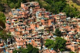 Una de las muchas favelas que hay en Brasil