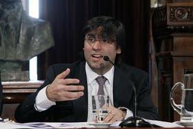 El titular de la ANSES, Diego Bossio