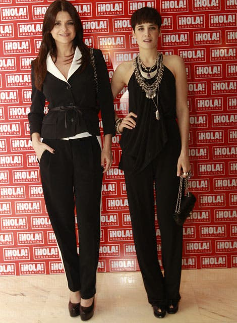 Madre e hija marcando tendencia: Araceli González y Florencia Torrente dieron cátedra de elegancia. Foto: /Fabián Marelli