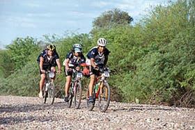 los vencedores, Corredor Andino, en el tramo de mountain bike
