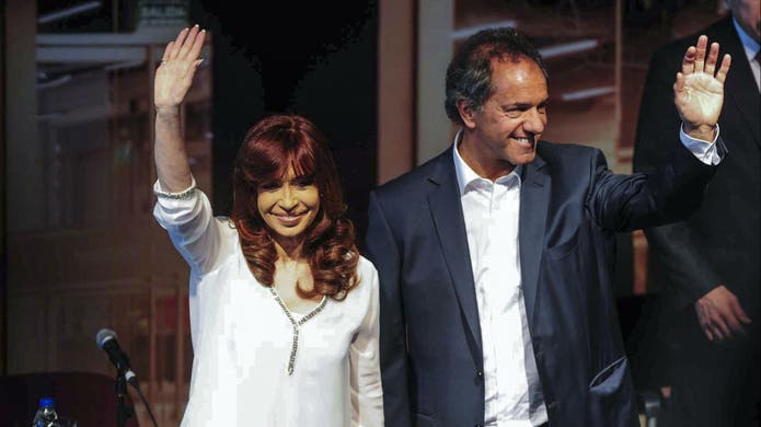 Cristina, con Scioli en el Polo Tecnológico