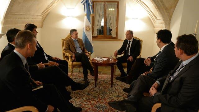 Con Midlin, Macri habló del interés de nuevos inversores