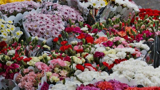 La gran variedad de flores aporta también un agradable perfume al recorrido. Foto: LA NACION / Ricardo Pristupluk
