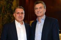 El encuentro entre Mauricio Macri y Gerardo Martino en la Casa Rosada