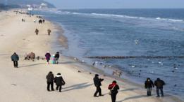 Usedom atrae a los visitantes con sus playas de arenas blancas y pueblitos pintorescos.