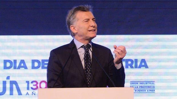 Macri asiste al acto por el Día de la Industria en Pilar