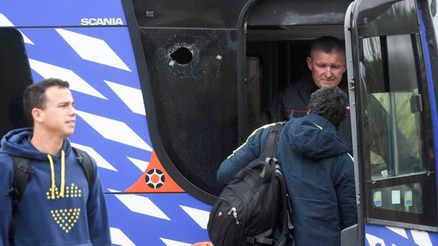 La agresión contra el ómnibus de Boca