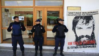 Manifestantes rompieron vidrios y se enfrentaron con policías en la puerta del juzgado de Esquel