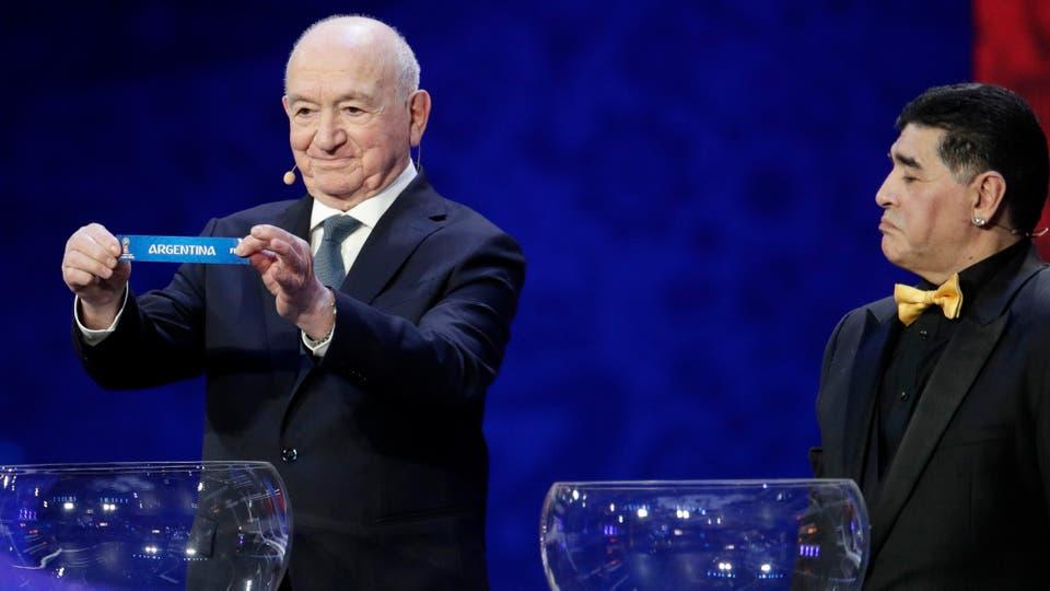 Sorteo del Mundial Rusia 2018