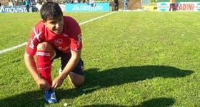 Antes de su último partido en Independiente, Agüero se prepara; no tuvo una buena actuación y la despedida fue con una derrota