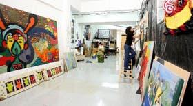 En la galería Appetite, que llegó al barrio hace tres años, se promueve con éxito el arte joven más experimental