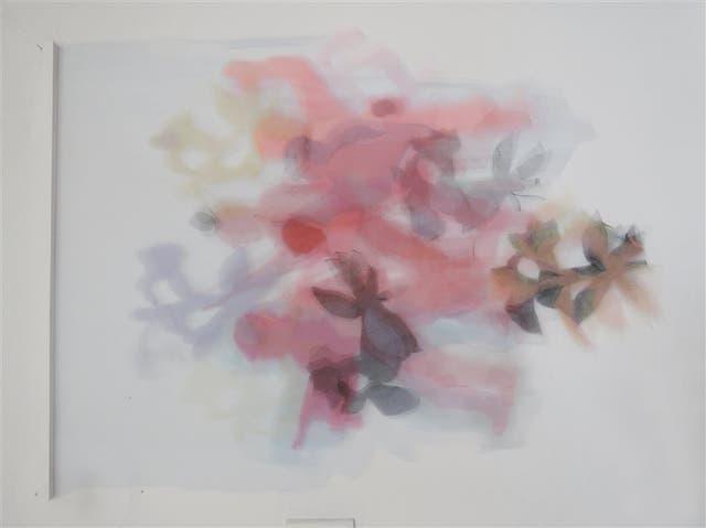 Teresa Giarcovich. La ilusión, acrílico sobre tela, se exhibe en el Salón Nacional de Arte Sacro de Tandil. En septiembre la artista tendrá una muestra individual en Espacio Piedras